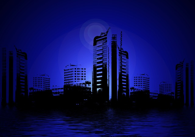 Blue Buidling 2