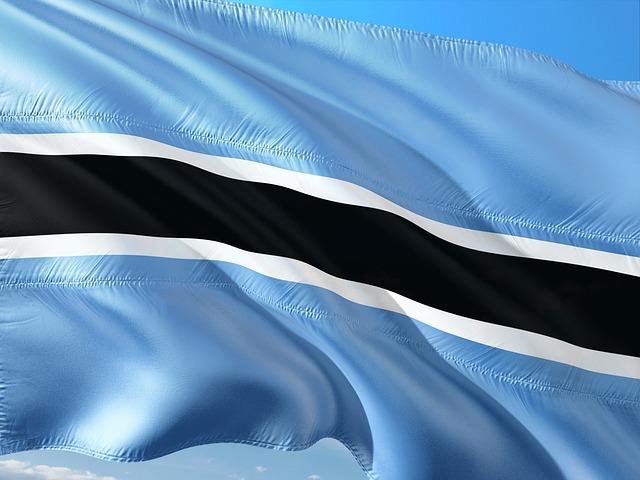 Botswana Flag 2