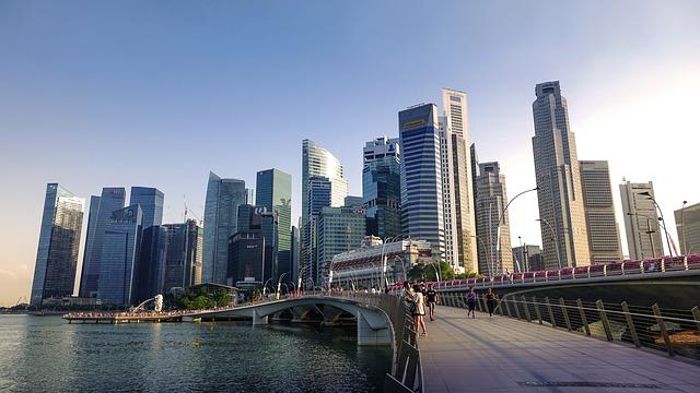 Singapore - Image by Jason Goh from Pixabay
